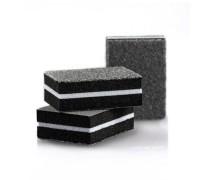 Бафы (шлифовщики) мини (кубик) 4*3 см, разные цвета, 100/180 грит, 50 шт