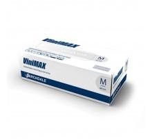 VINIMAX перчатки винил, M, прозрачные, 50 пар