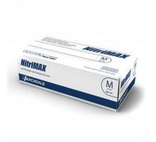 NitriMAX перчатки нитрил, 3,5 г, S, белые, 50 пар