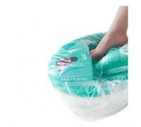 Пакеты для педикюрных ванн 50*70, полиэтилен, белые, 100 шт