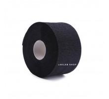 Воротнички бумажные, черные, 6,5*32,5 см, на липучке, 5 рулонов