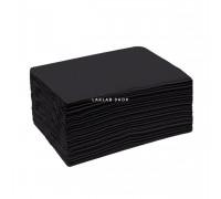 Полотенце 35х70 см EleWhite, спанлейс, черное, пачка, 50 шт