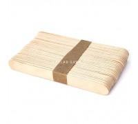 Шпатели деревянные, 140x16 мм, 100 шт
