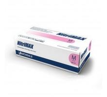 NitriMAX перчатки нитрил, 3,5 г, S, розовые, 50 пар