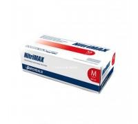 NitriMAX перчатки нитрил, 4 г, S, красные, 50 пар