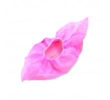 Бахилы полиэтилен, особо прочные, розовые, 100 шт