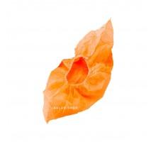 Бахилы полиэтилен, особо прочные, оранжевые, 100 шт