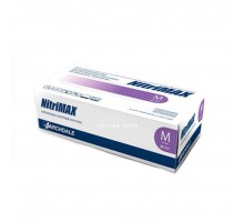 NitriMAX перчатки нитрил, 4 г, M, сиреневые, 50 пар