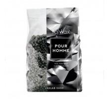 Воск горячий (пленочный) ItalWax POUR HOMME мужской гранулы 1 кг