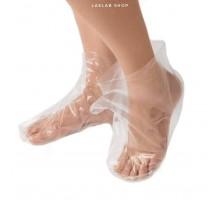 Носки для процедур Чистовье полиэтилен, 50 шт (25 пар)
