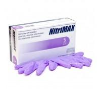 NitriMAX перчатки нитрил, 3,5 г, S, сиреневые, 50 пар
