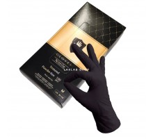 SAFE&CARE перчатки нитрил, 4 г, M, черные, LN31-58, 50 пар